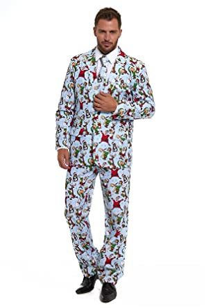 180b7cc2eff Lekeez® Stag Do Suit Christmas 2017 Novelty Fancy Stand Out Dress Xmas  Costume