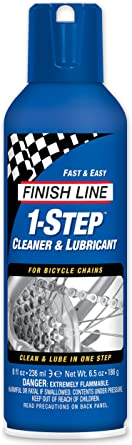 Finish Line 1-Step Cleaner and Lubricant, 8-Ounce