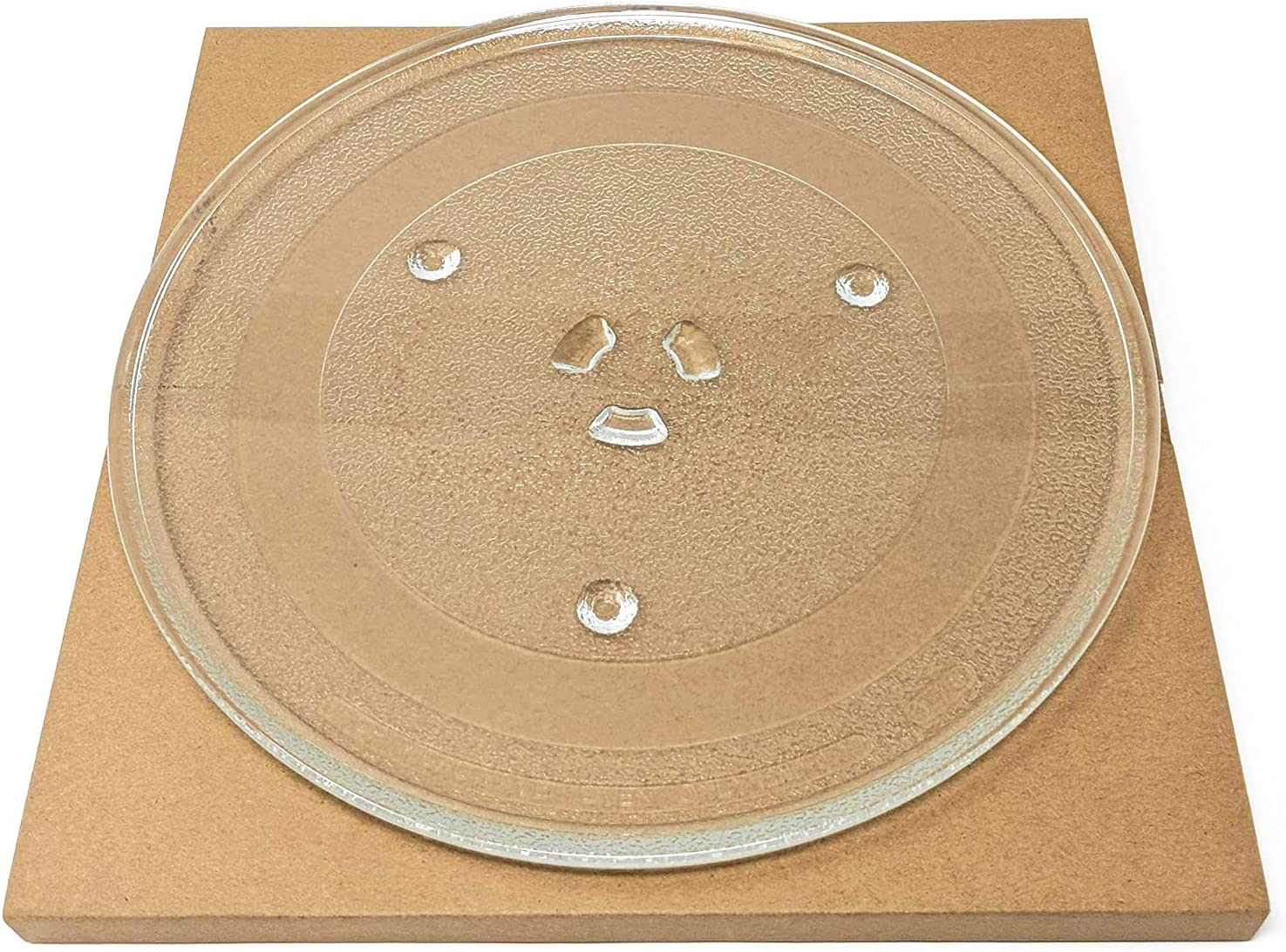 Microwave Turntable Glass Tray WB49X10097 By Primeswift Replacement for Samsung GE 947207 WB39X0078 Approx.11 1//4 inches diameter