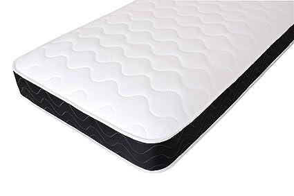 Same colour base and mattress! 3ft Standard Single Bed with Deep Quilt Mattress