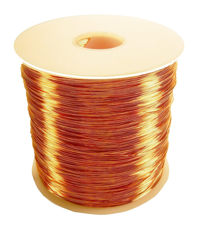 Copper Wire Dead Soft 1 Lb Spool (20 Ga / 315 Ft.) by Copper wire USA