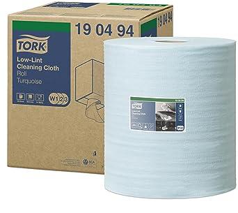 Tork 190494 Paños de limpieza sin pelusa Premium / 1 capa/Paños multiusos compatibles con