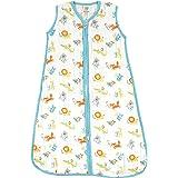 Luvable Friends Baby Girls' Soft Muslin Or Jersey Safe Wearable Sleeping Bag