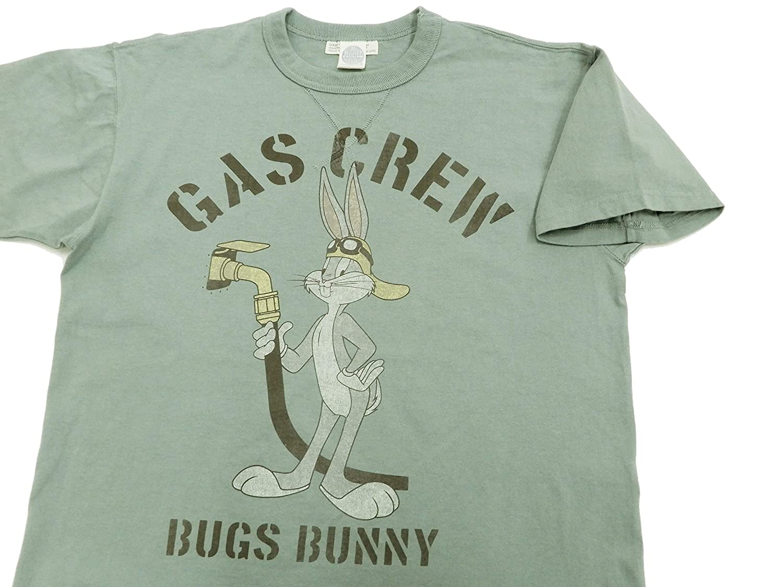 TOYS McCOY Mens Short Sleeve T-Shirt Bugs Bunny Loop-Wheeled Tee TMC1905