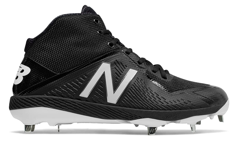 (ニューバランス) New Balance 靴シューズ メンズ野球 Mid-Cut 4040v4 Black ブラック US 7 (25cm) B073YN5NYP