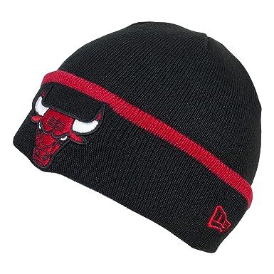 New Era - NBA Chicago Bulls Squadra Bracciale Beanie Otc - Nero ... 524e38488569