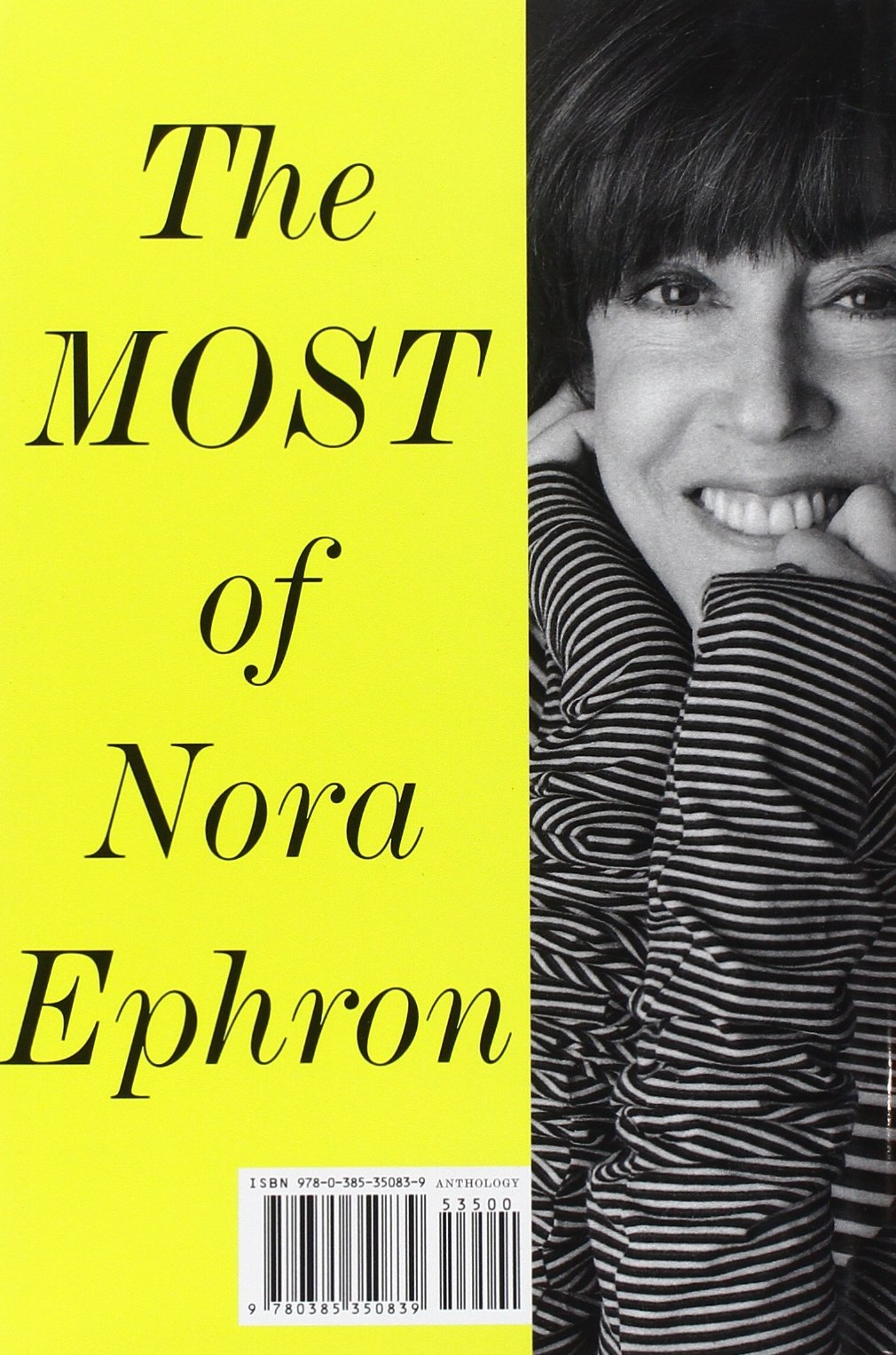 com the most of nora ephron nora ephron  com the most of nora ephron 9780385350839 nora ephron books