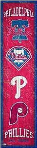 Fan Creations MLB Philadelphia Phillies Unisex Philadelphia Phillies Heritage Banner 6x24 Sign, Team, 6 x 24