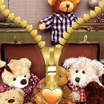 Amazon Com Teddy Bear Zipper Lock Screen Appstore For Android