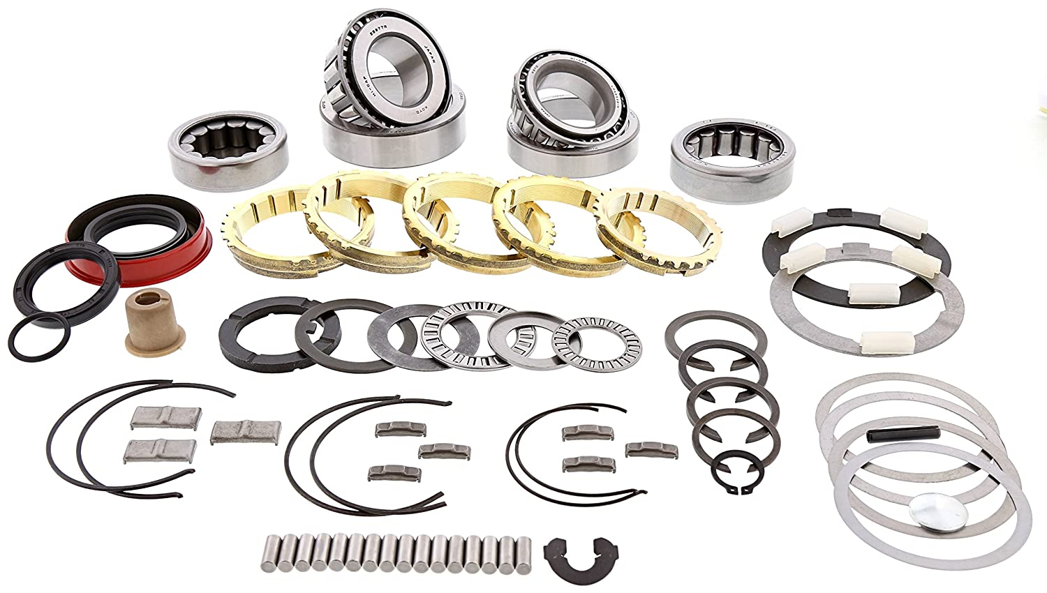 T5 Non World Class 5 Speed Transmission Rebuild Bearing Kit Deluxe GM Chevy Ford Transparts Warehouse