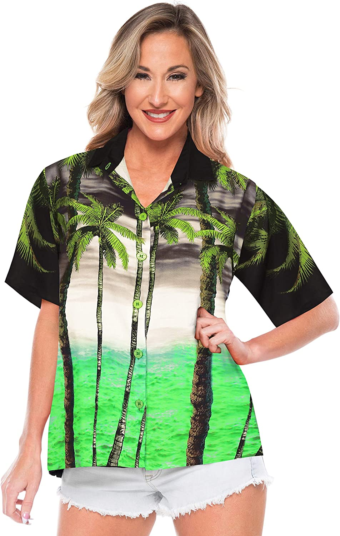 Ladies pretty hibicus halter neck top by NAUGHTY designer Size 12  NEW