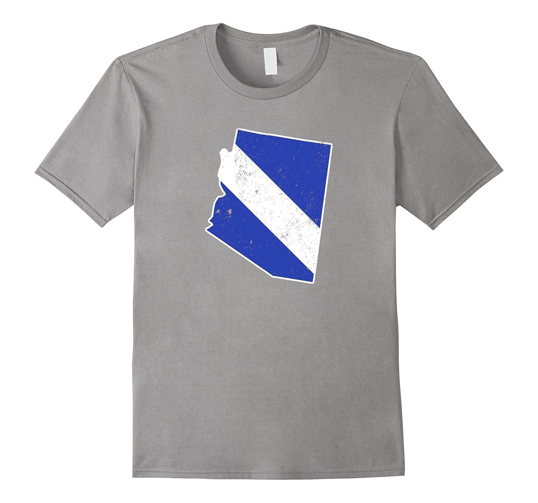 Arizona EMT Paramedic Thin White Line Flag Shirt-TD