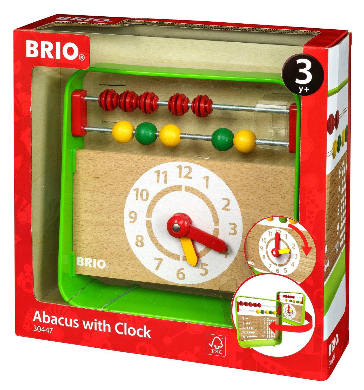 BRIO 30447 - Lernuhr mit Zählrahmen BRIO GmbH 63044700