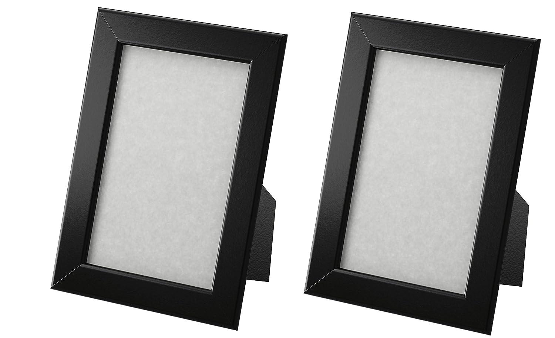 Amazon.com - Ikea Fiskbo Frame, Black, 4\