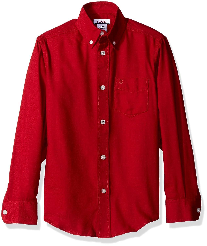 IZOD Kids Boys' Long-Sleeve Solid Buttondown Dress Shirt Izod Children's Apparel Z871023