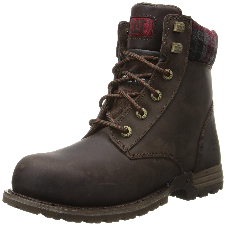 Caterpillar Women's Kenzie Steel Toe Work Boot B00I857T3K 9.5 C/D US|Bark