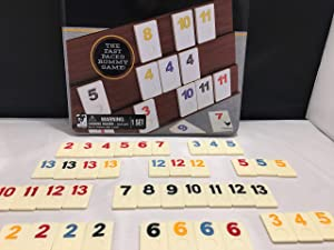 Rummy-Play Game for All Seniors. Perfect for People with Memory Loss or Dementia. Number Sequencing Strategy to Improve Concentration & Focus. Stimulates The Brain to use Reasoning and Memory Skills