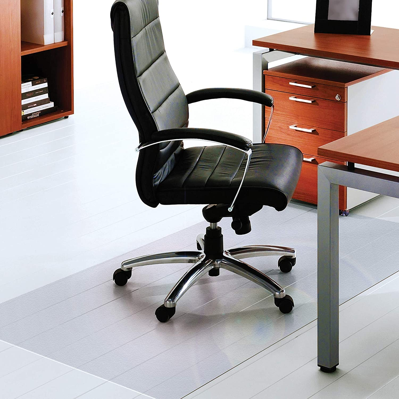 "Floortex Polycarbonate XXL Office Mat 118"" x 60"" for Hard Floors, Clear, Model: FR1215030019ER"