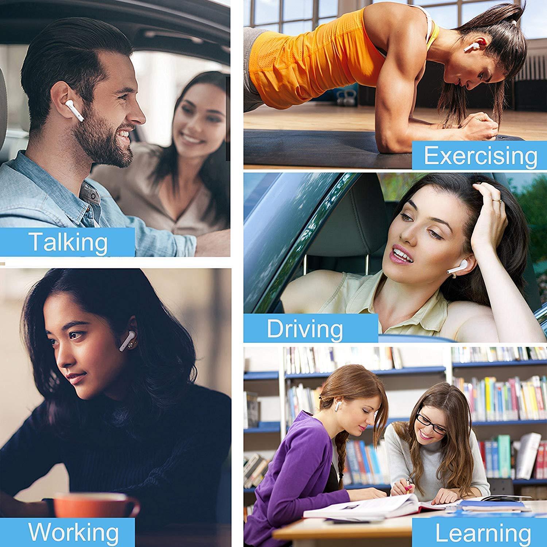 Android e Altri Smartphone con Microfono e Scatola di Ricarica iOS Cuffie Sportive Senza Fili dsffa Cuffie Bluetooth Auricolare Bluetooth per Samsung Stereo immersivo