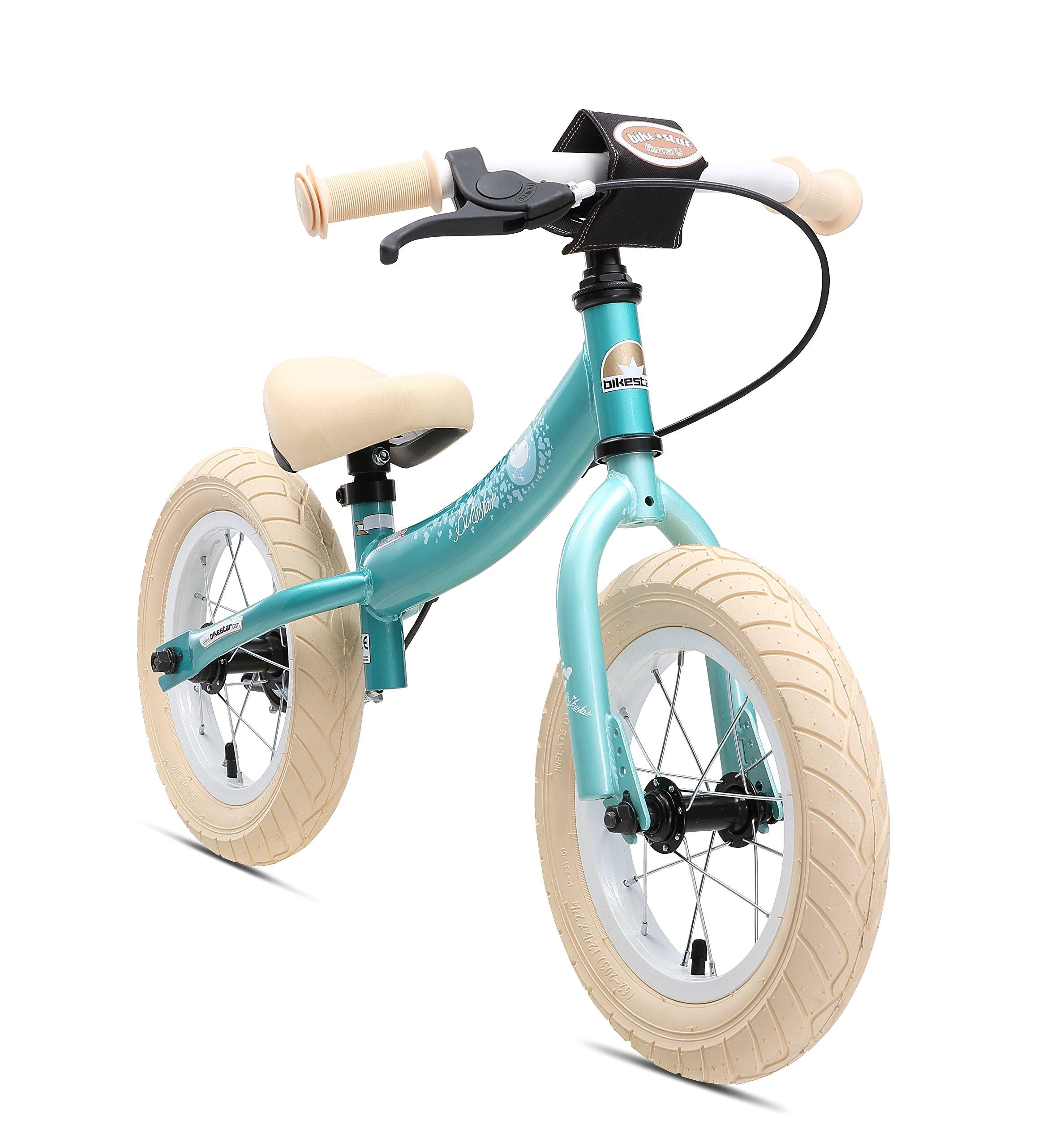 BIKESTAR Vélo Draisienne Enfants pour Garcons et Filles de 3-4 Ans ★ Vélo sans pédales évolutive 12 Pouces Sportif ★ product image
