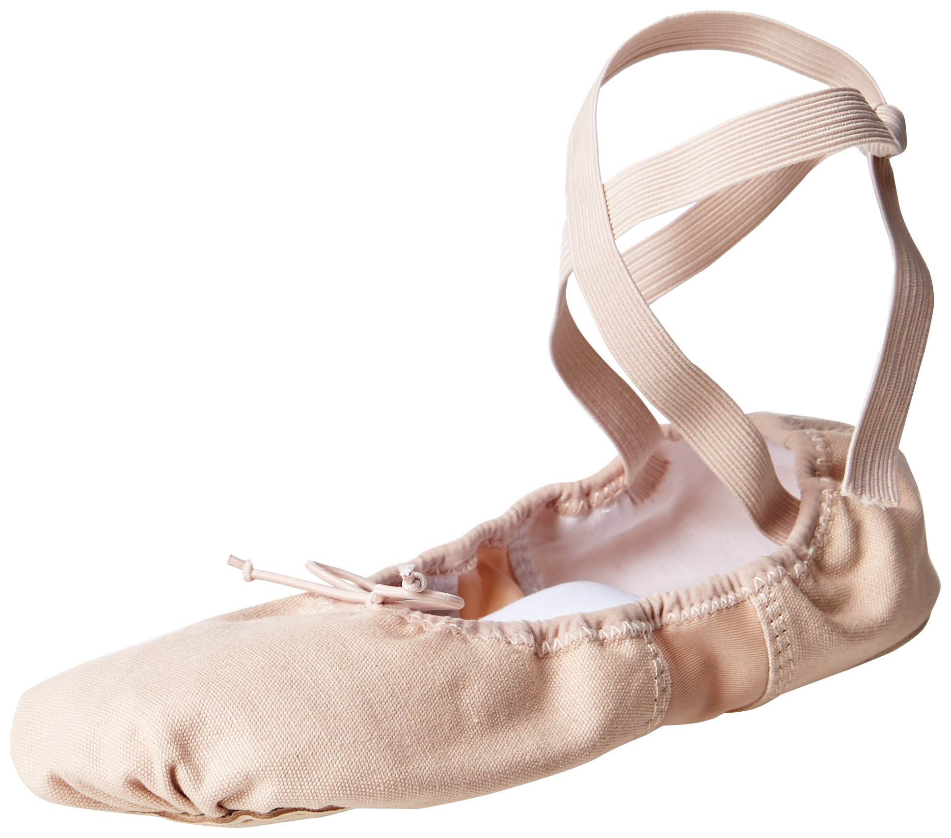 Dance Class CB101 Canvass Ballet Shoe (Toddler/Little Kid),Pink,3 M US Little Kid