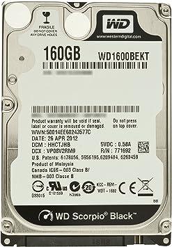 Lot of 3 Western Digital  320GB HDD 5400 RPM SATA 6Gb//s 16MB Cache WD Hard Drive
