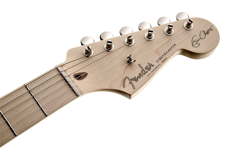 Fender 0117602805 Eric Clapton Stratocaster - Guitarra eléctrica para diapasón, color blanco olímpico: Amazon.es: Instrumentos musicales