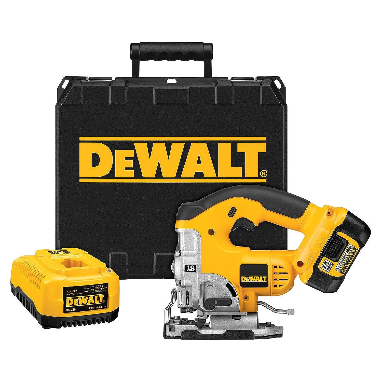 DEWALT DCS330L 18-Volt Cordless XRP Lithium-Ion Jig Saw Kit by DEWALT B003J5S6KO