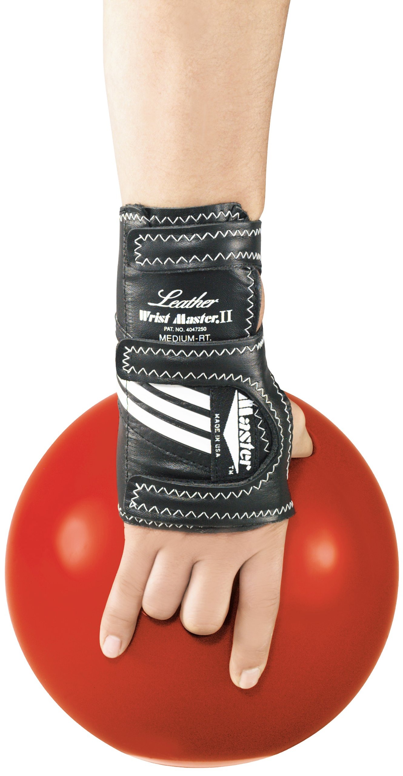 Master Industries Wrist Master II Leather Bowling Gloves, Large, Right Hand