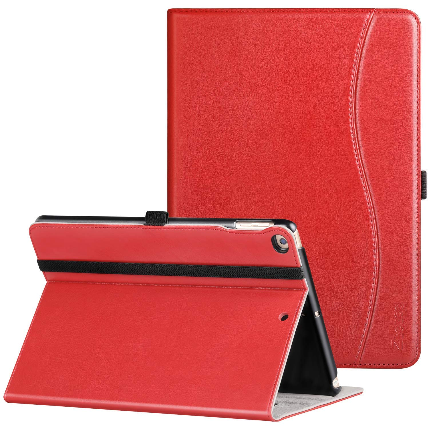 Slim leather iPad cover in red - Enuoy 7 Simple Ideas to Add Smiles to White Rooms + Funny Quotes!
