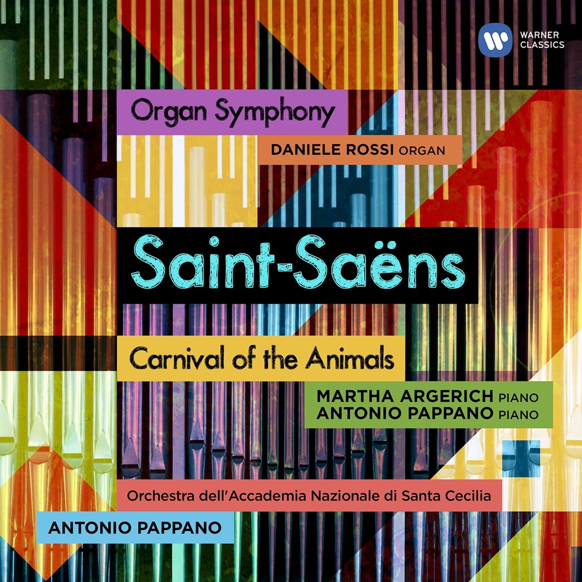 CD : Antonio Pappano - Saint-saens Organ Symphony & Carnival Of Animals (CD)