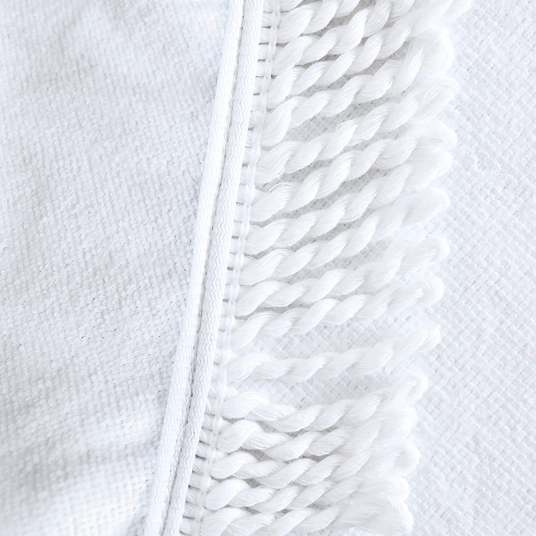 Bohemian Thick Beach Towel Indian Round Mandala Yoga Mat Tapestry 60 inch Diameter Blue//Black-Mandala