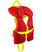 Stohlquist Child PFD Jacket, 30 - 50 lb, Red/Yellow