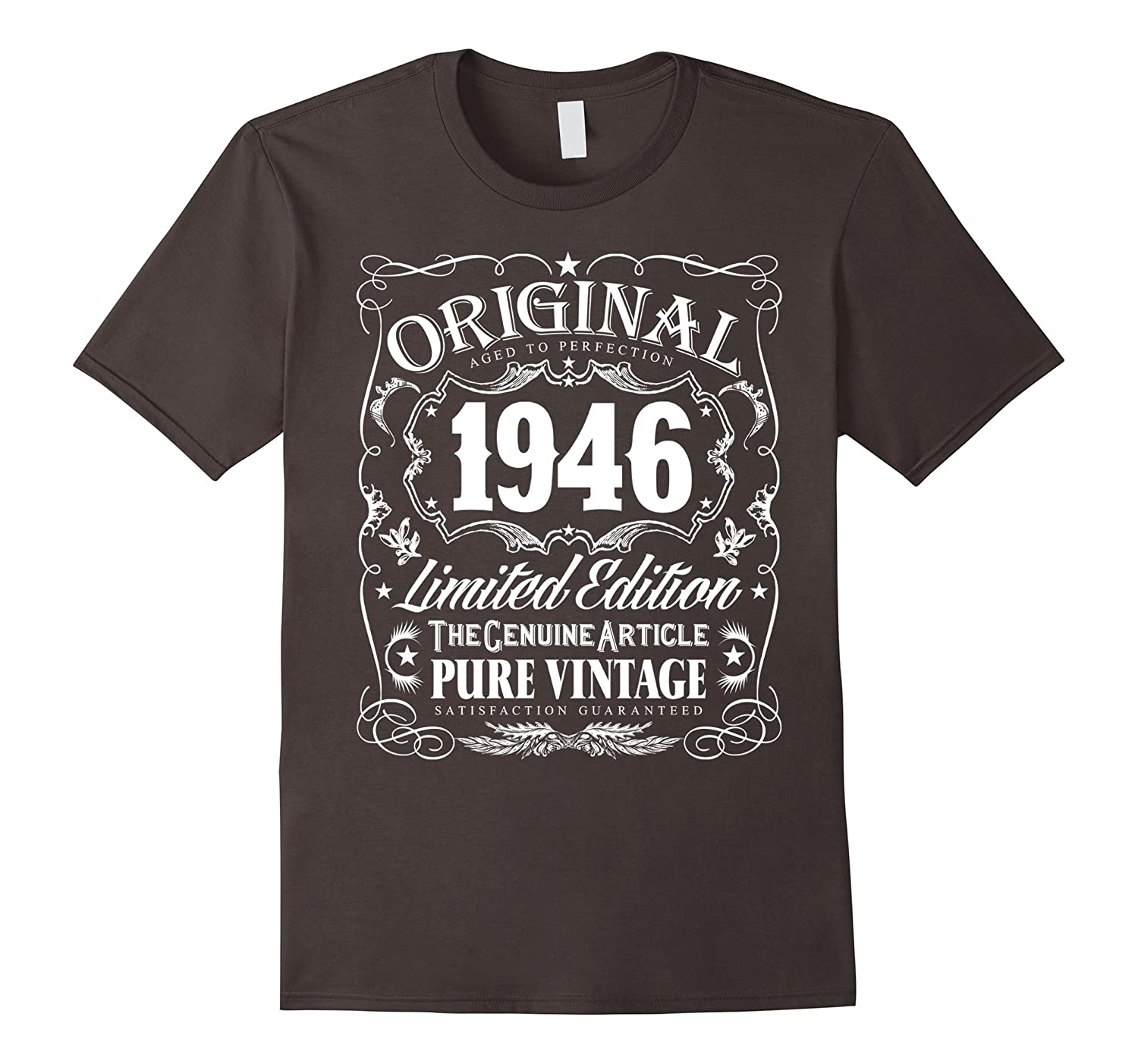 Original 1946 Aged To Perfection 70th Birthday T-Shirt-TH