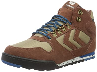 hummel Nordic Roots Forest Boot, Sneakers Hautes Homme, Bleu (Total Eclipse), 41 EU