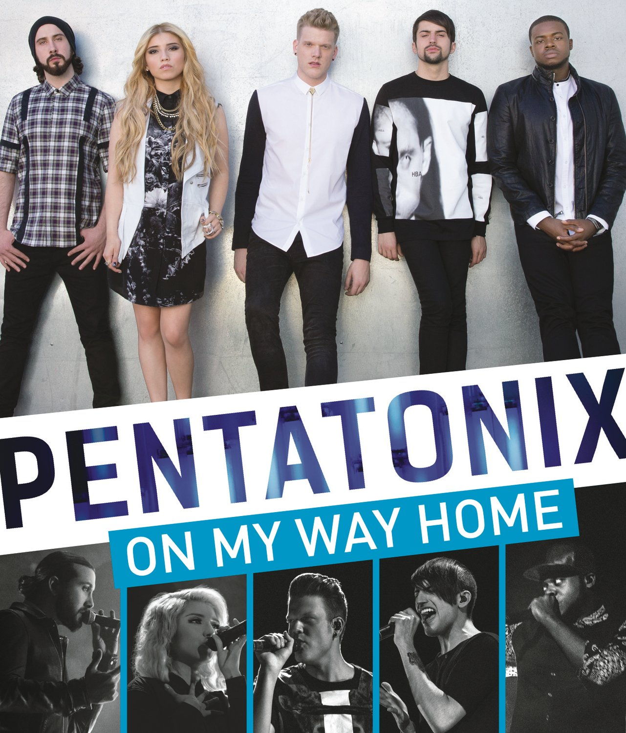 DVD : Pentatonix - On My Way Home (Super Jewel Box)