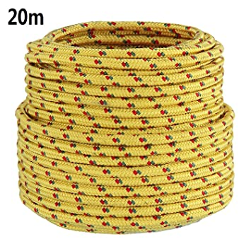 8 Strong Braided Rope Coil Boat Line Cord Polyester 6 10mm up to 50m New