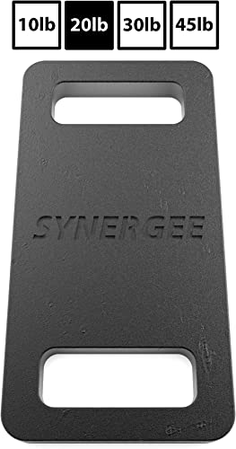 Synergee Cast Iron Ruck Plates. Weighted Plates for Rucking. Available in 10lbs, 20lbs, 30lbs and 45lbs. Cardio, Strength, and Endurance Training.