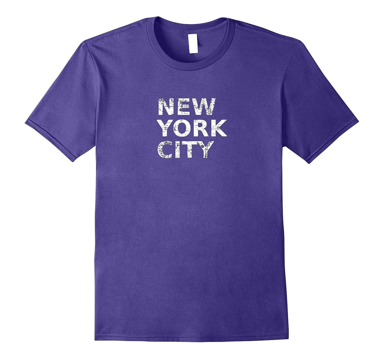 Distressed New York City Typography-CD