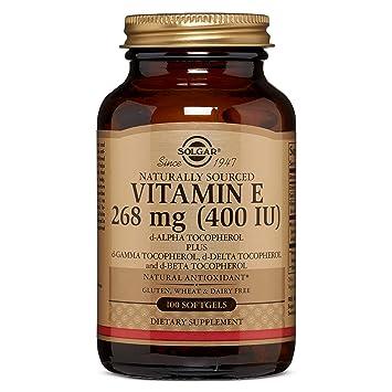 Amazon.com: Mezcla de cápsulas blandas de vitamina E ...