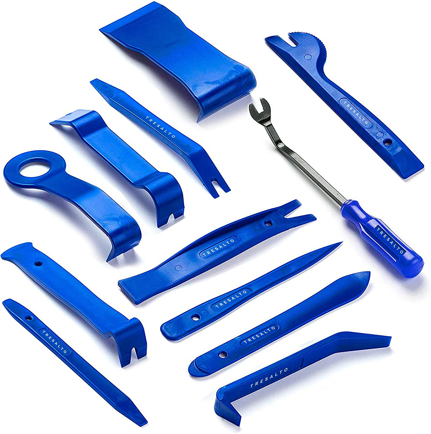 Tresalto Auto Trim Removal Tool Kit Set of 12 Pcs