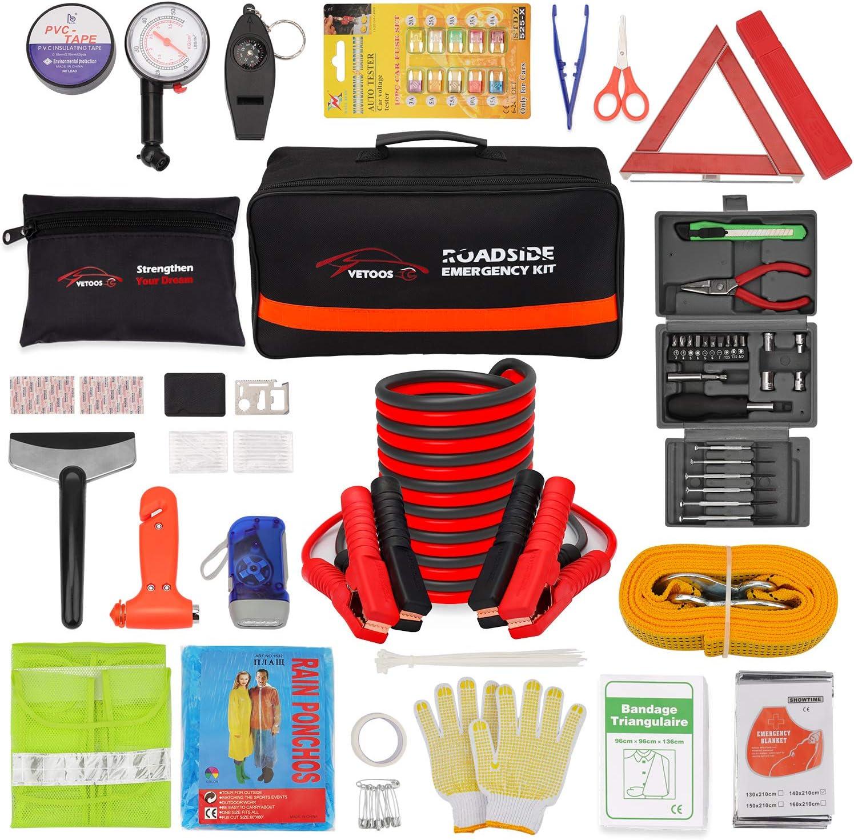 Vetoos Roadside Emergency Survival Car Kit