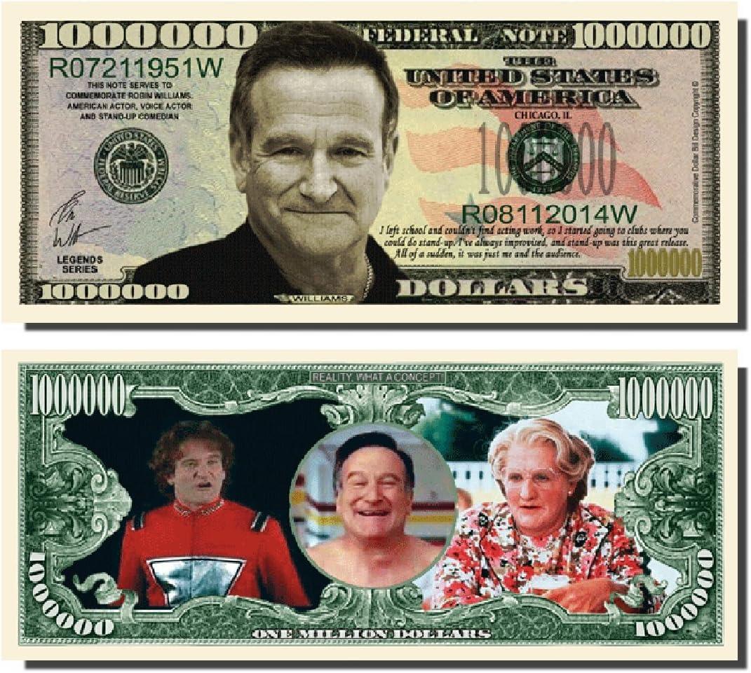 Bruce Lee Million Dollar Bill Set of 10