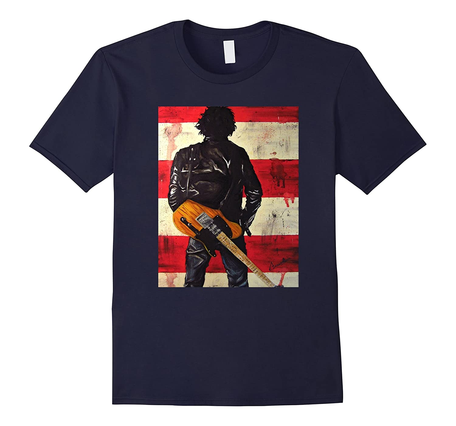 Bruces Springsteen Singer T-Shirt-BN