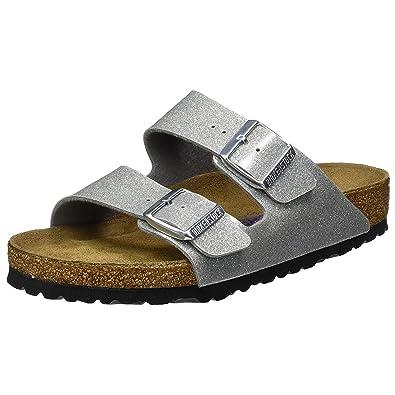b4fa6c99103 Birkenstock Womens Arizona Magic Galaxy Silver Synthetic Sandals 37 ...