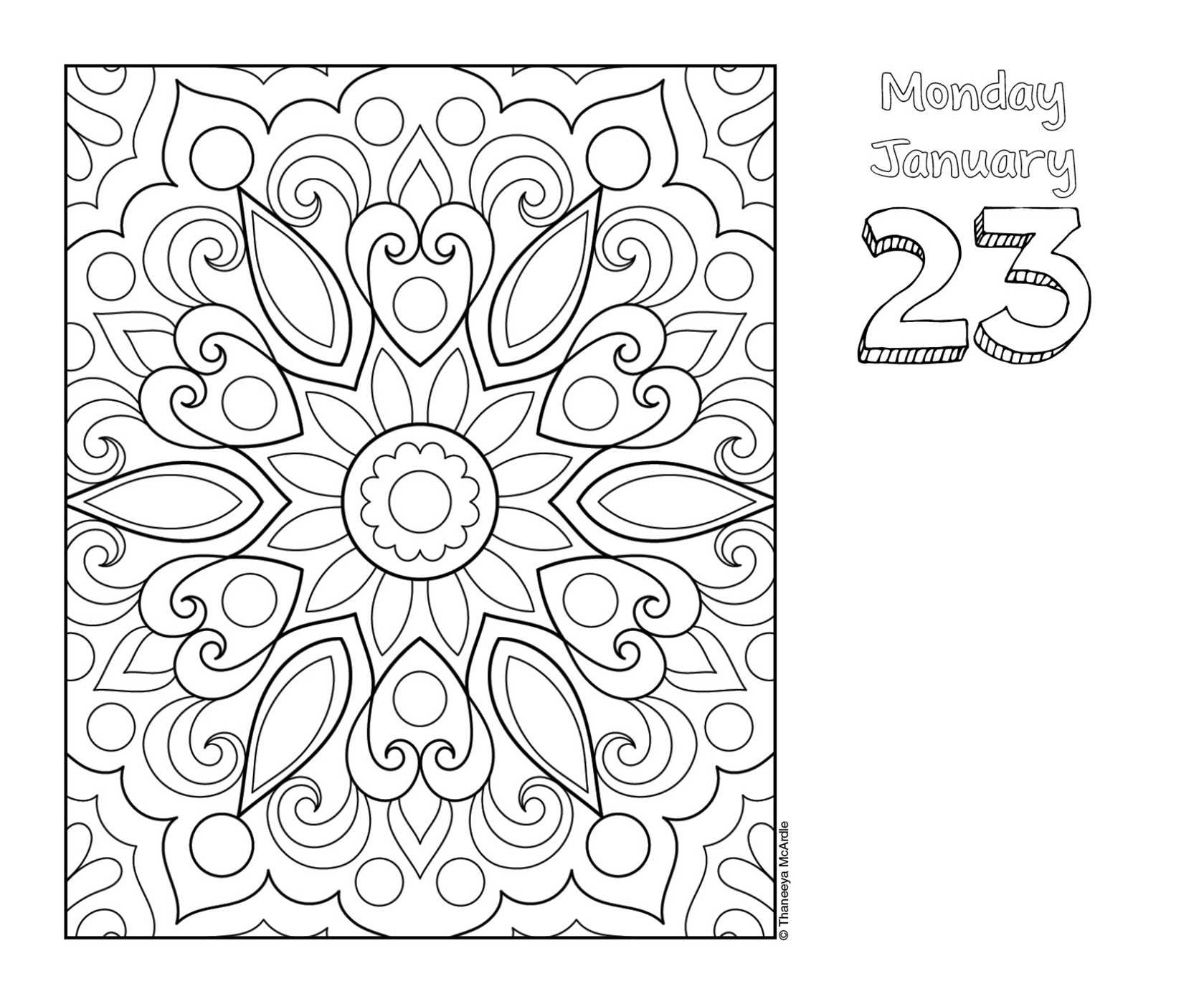 90 View Image Found On August Calendar Coloring Page