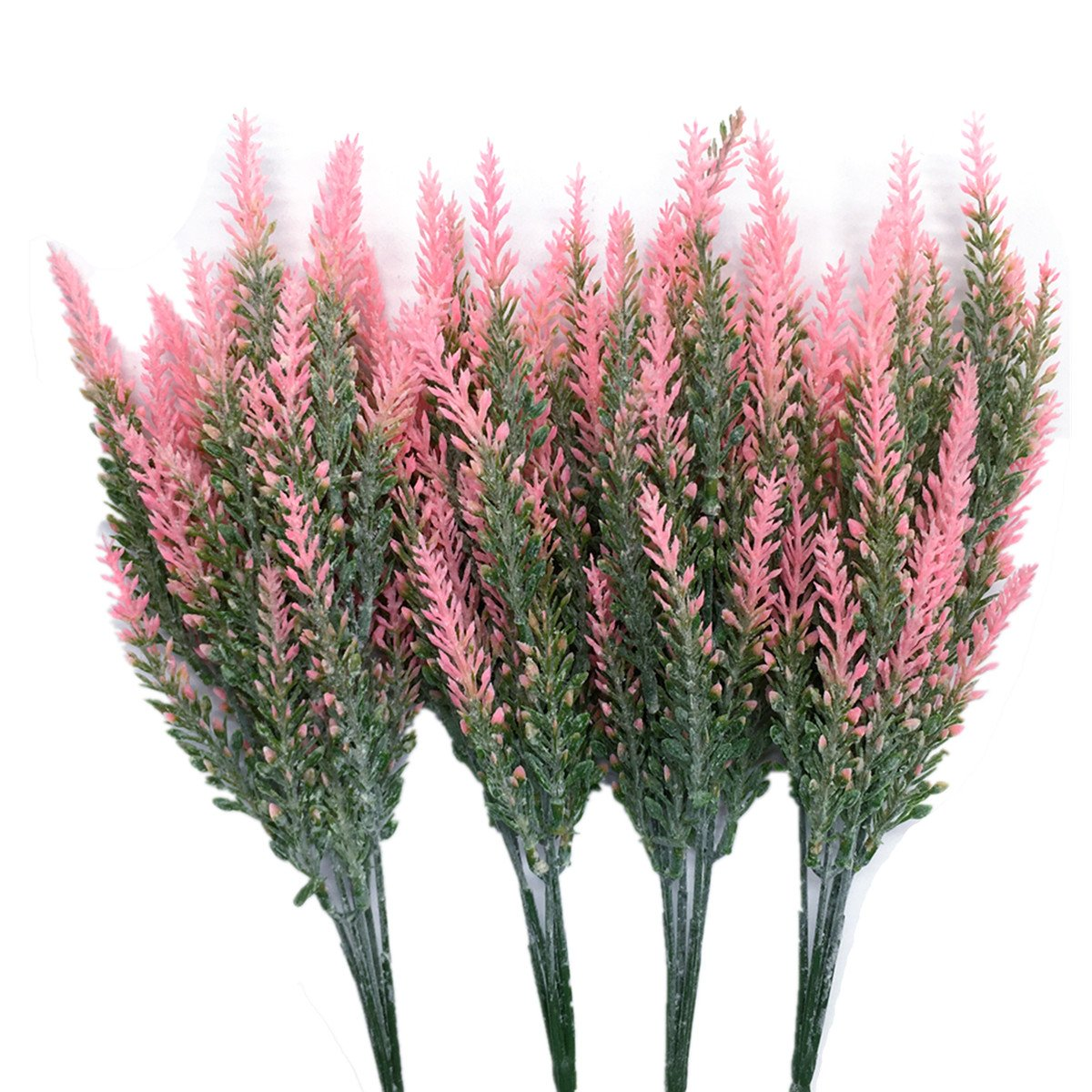 CATTREE-Artificial-Lavender-Plastic-Plants-Fake-Flowers-Bouquet-Home-Bridal-Wedding-Office-Party-Garden-Balcony-Indoor-Outdoor-DIY-Centerpieces-Arrangements-Simulation-Craft-Decoration-Pink-4pcs