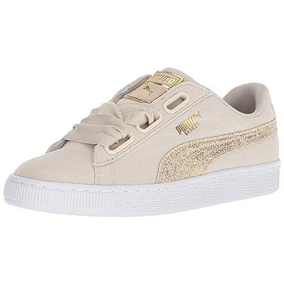 PUMA Women's Basket Heart Canvas Wn Sneaker | Shoes