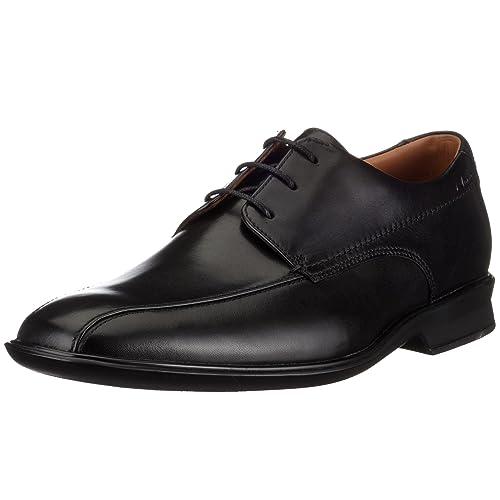 Zapato Para De Piel Cordones Goya Band Con Hombre Clarks l1FJcK