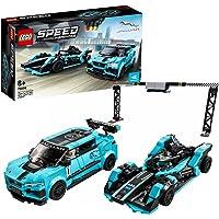 Lego Formula E Panasonic Jaguar Racing Gen2 Car & Jaguar I Pace Etrophy
